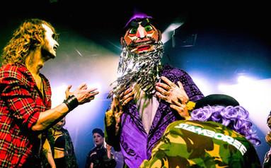 The Sorceror performing at Scala (London) with Slamboree (2016)