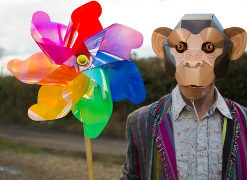 Chimpanzee Mask (2014)