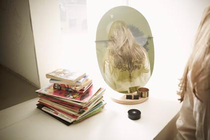 "Table mirror ""Mira Miranda"""