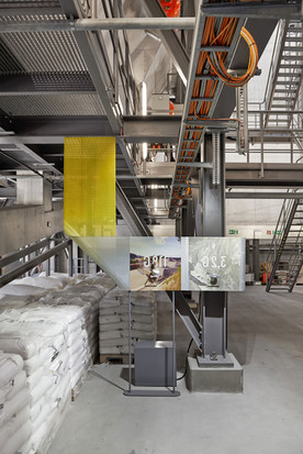 Interactive visitor guidance in a waste incineration plant