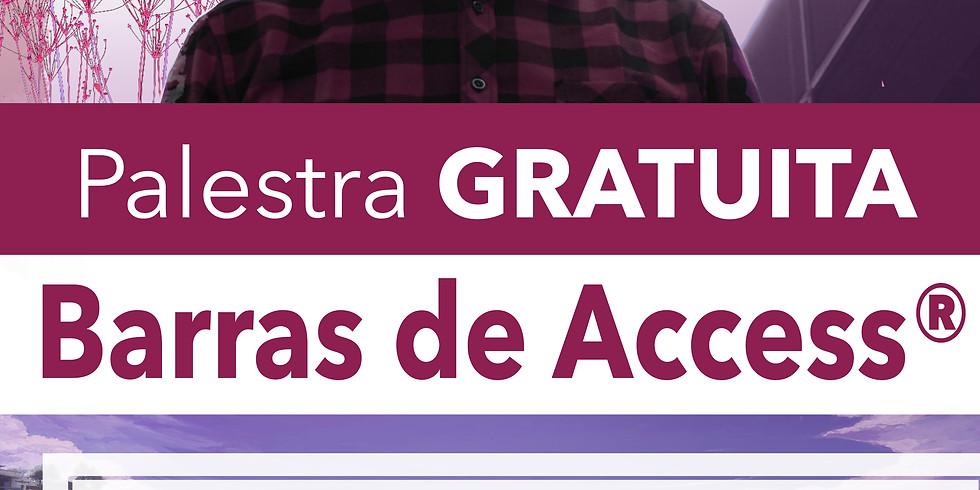 Palestra Gratuita Barras de Access ®