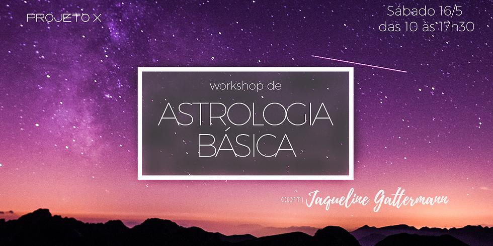 Workshop de Astrologia Básica com Jaqueline Gattermann