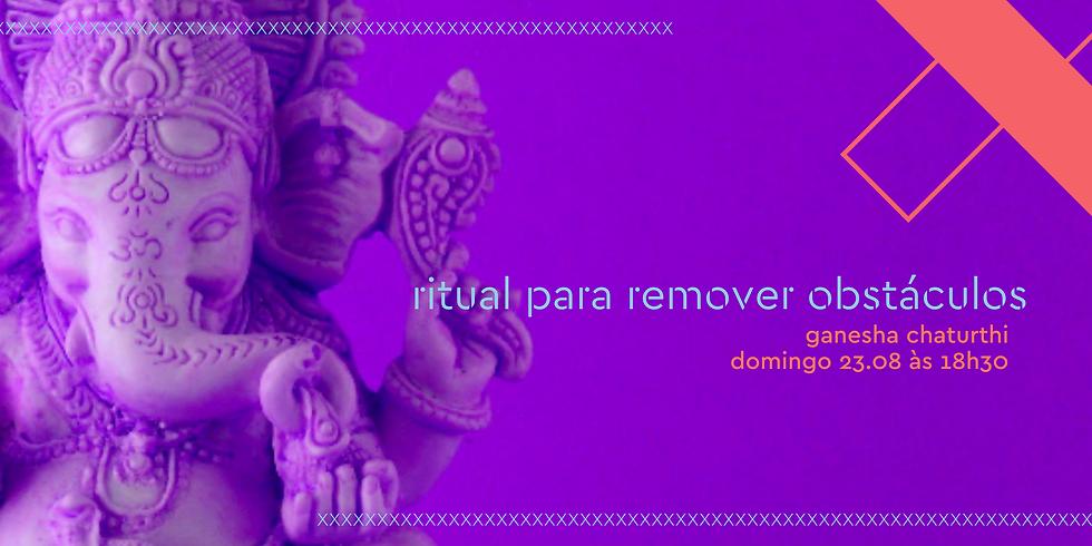 ritual para remover obstáculos | ganesha chaturthi