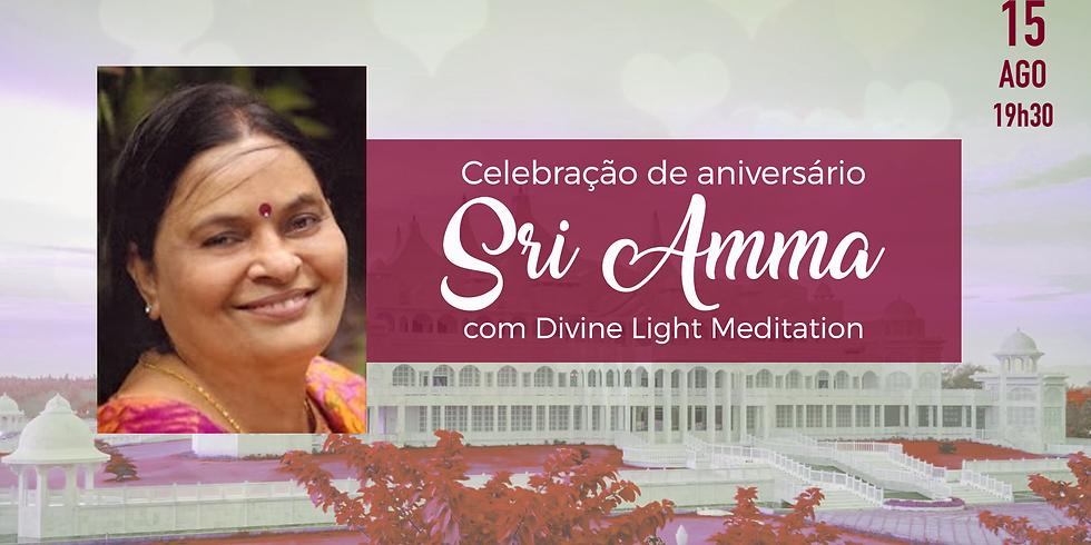 Celebração do Aniversário de Sri Amma - Dia do Amor