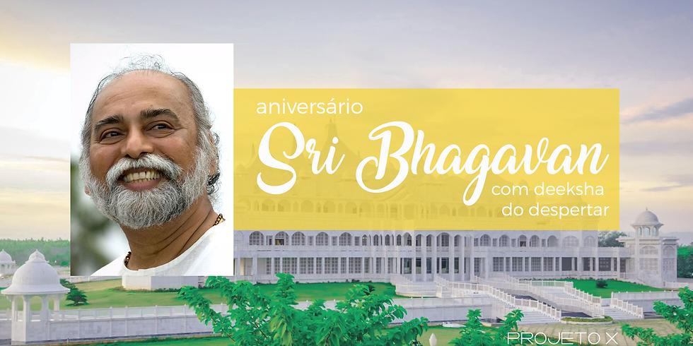 Celebração do aniversário de Sri Bhagavan
