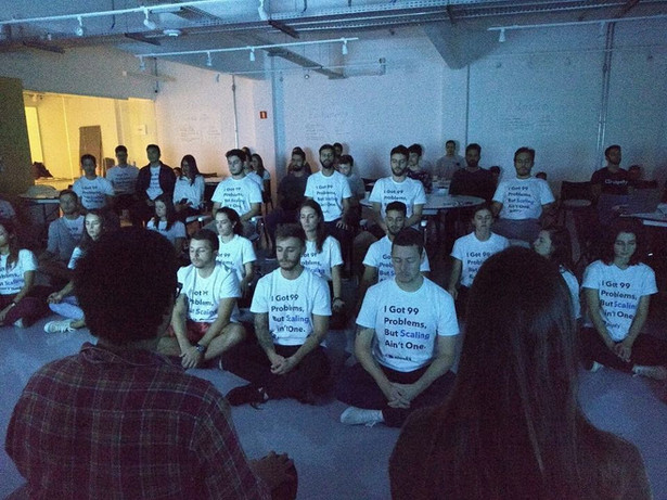 Meditação no Scalathon da Pipefy