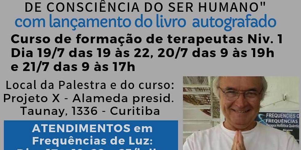 Palestra Frequências de Luz e os Níveis de Consciência do Ser Humano com Eduardo Chianca