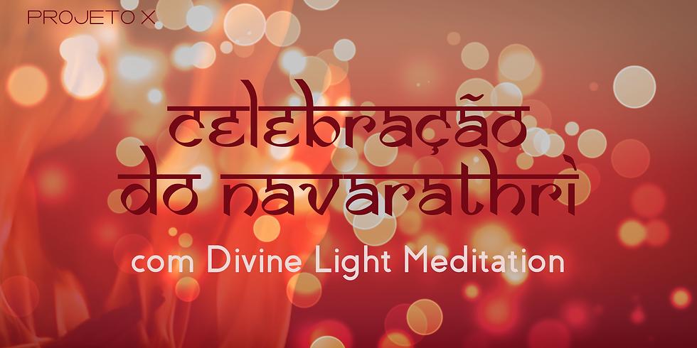 Celebração do Navarathri com Divine Light Meditation