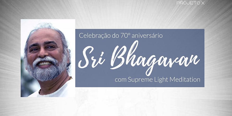 Celebração do 70º aniversário de Sri Bhagavan