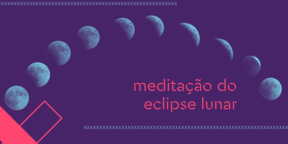meditação do eclipse lunar