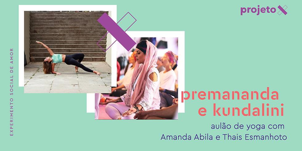 Aulão de Premananda e Kundalini Yoga