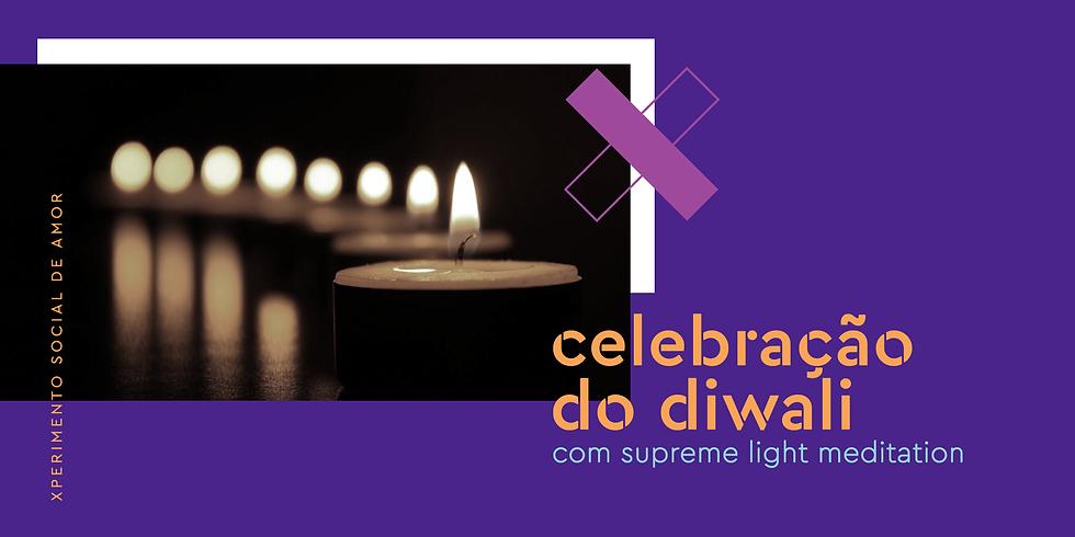 Celebração do Diwali com Divine Light Meditation