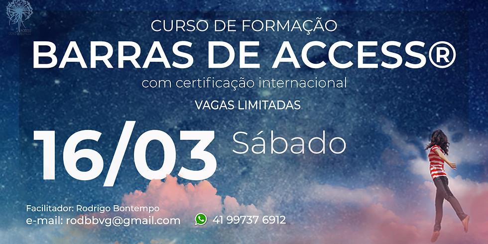 Curso de formação em Barras de Access com certificação internacional