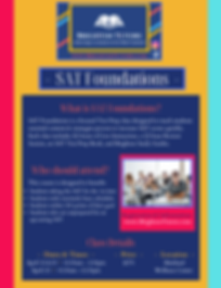SAT Test Prep Class in Orlando, Florida, SAT Exam, SAT Foundations, ACT Test Prep Class