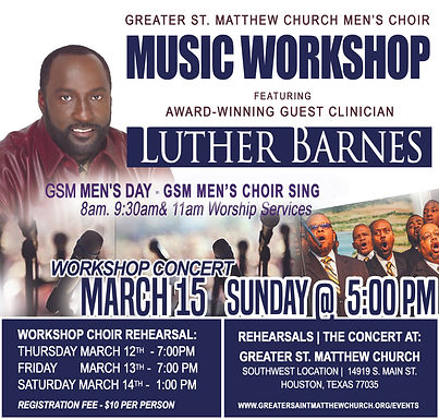 Men's Day Workshop Concert