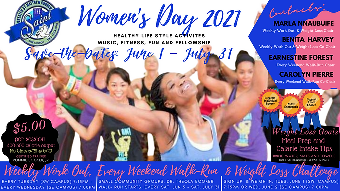 Womens Day Workout