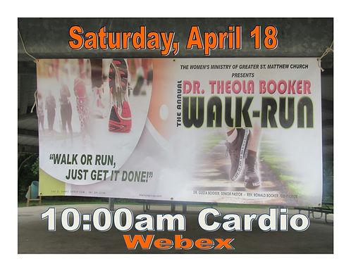 Dr. Theola Booker Walk Run