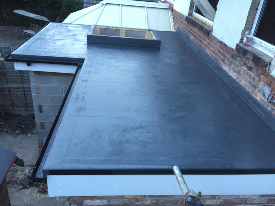 liquid resin waterproofing roofing Wigan