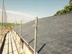 Pitched roof Slate