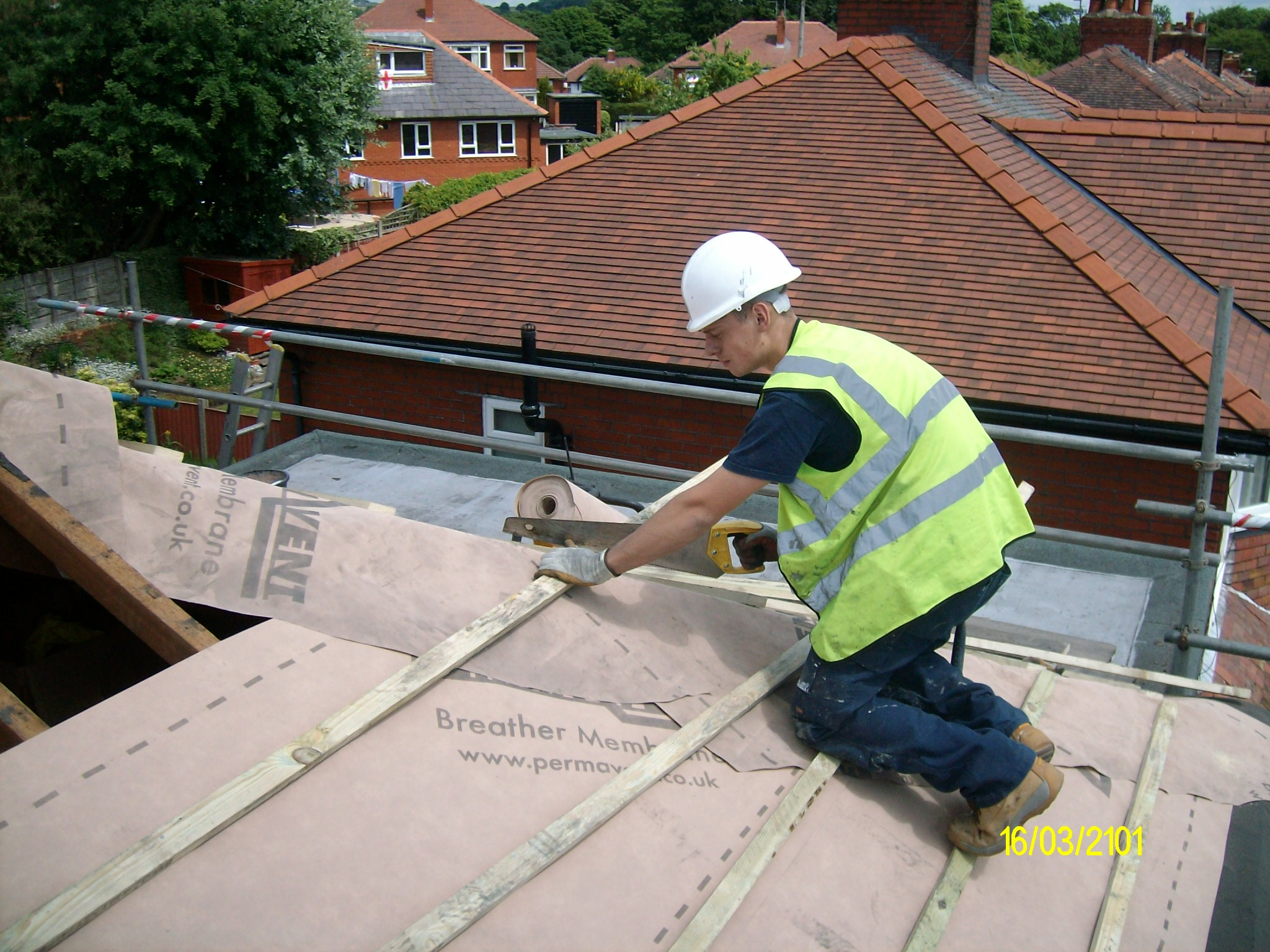 Pitched Roofing Tileing