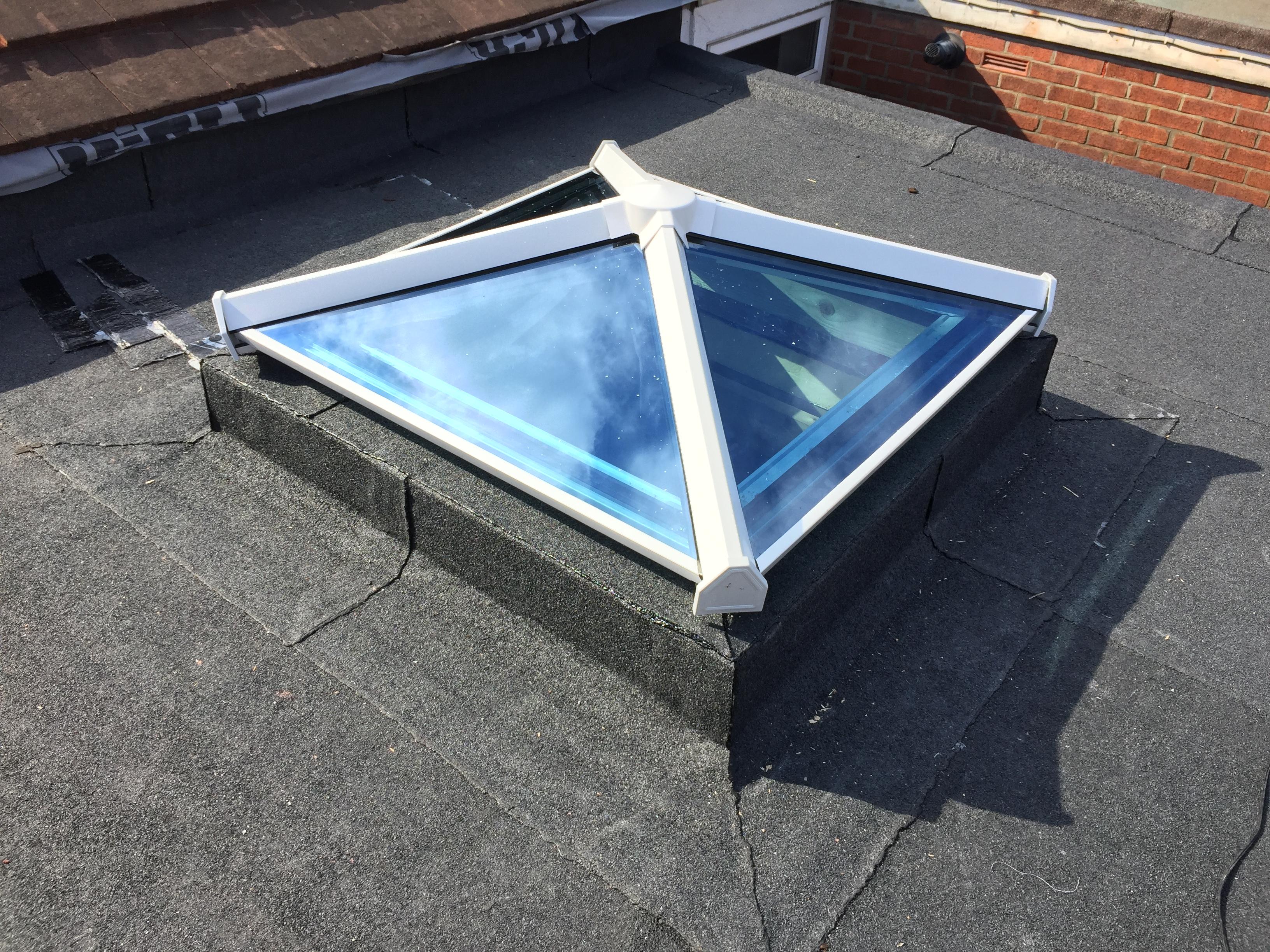 Flat Roof Skypod Lantern Instal