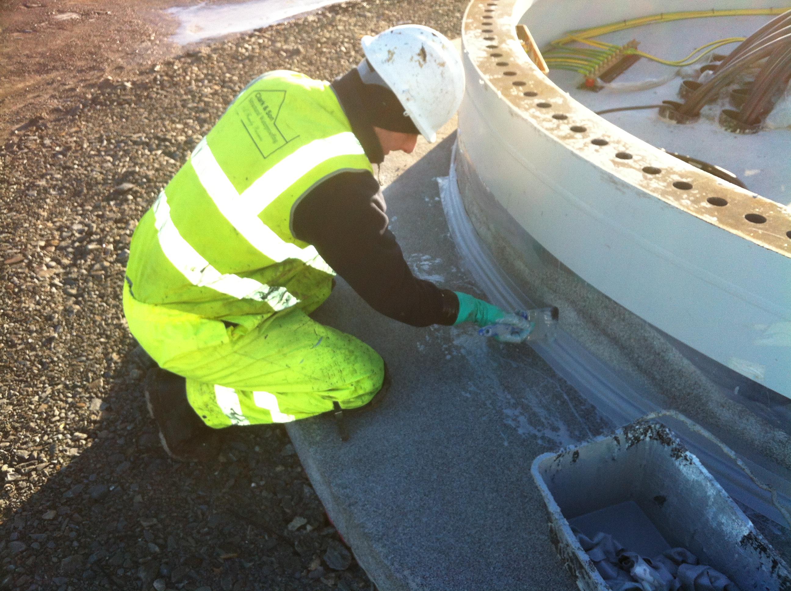 Wind Turbine Waterproofing