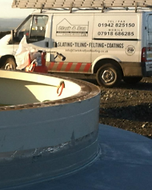 Wind Turbine Liquid Resin Waterproofing