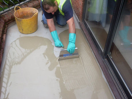 balcony waterproofing Slurry Coat bring