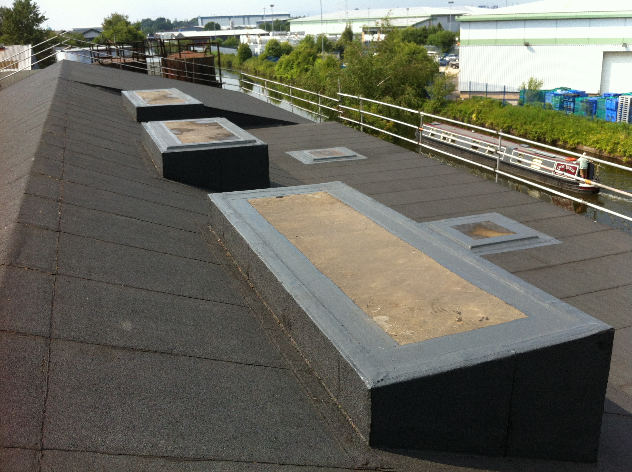 Liquid Resin Roof Lights