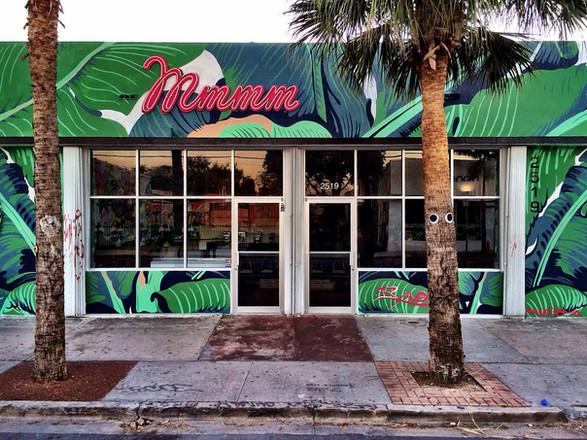 Mmmm Restaurant Mural