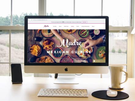 "Madre's lush web design and content"""