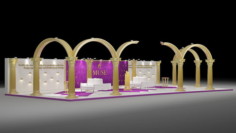 Muse Perfume Design Concept for Mall