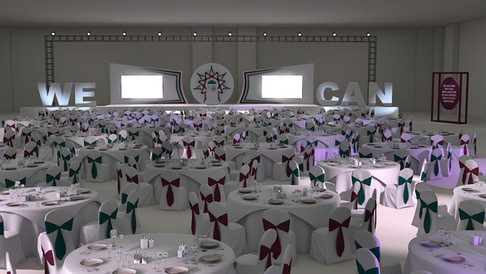Mesmeric Gala Dinner Design