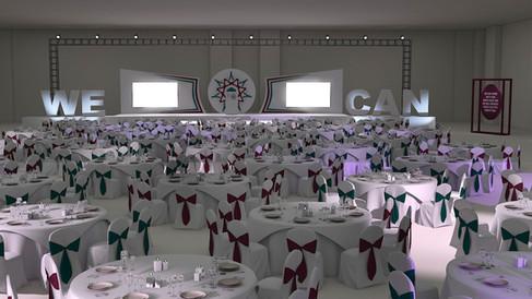 Mesmeric Gala Dinner Design
