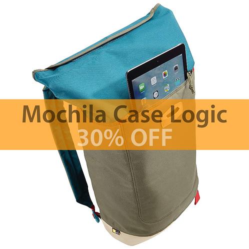 "Mochila Case Logic LARIMER ROLLTOP BACKPACK LARI114 14"" Blue (LARI-114-HUDSON)"