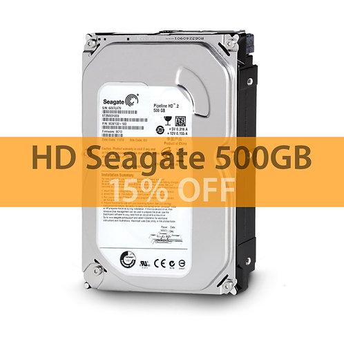 Disco Rígido  Seagate Pipeline  500GB (Desktop) (Sata de 6Gb/s e 8MB Cache)