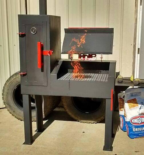 smoker/grill combo