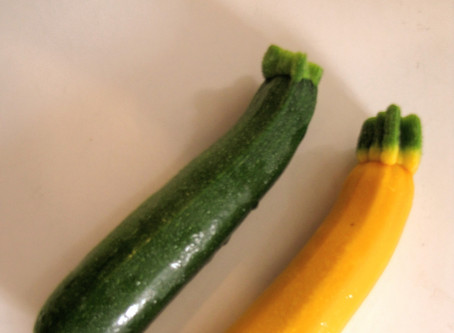 Sautéed Summer Squash with  Garlic and Parmesan