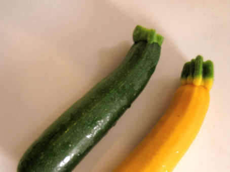 Sautéed Summer Squash with  Garlic and Parmesan