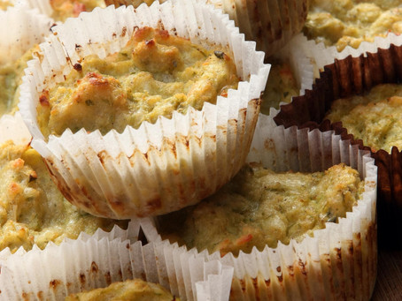 Miniature Zucchini Muffins