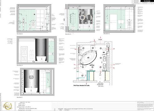 Detail Sanitary Drawing Master En-suite