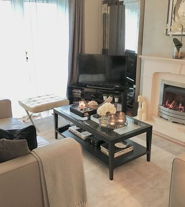 small lounge show home