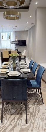dining room LWE Interiors