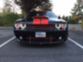 Dodge Challenger Red Black