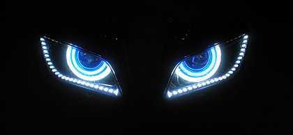sick hids california custom projector headlights cars