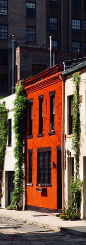 USA | old houses near Washington Square Park, New York City