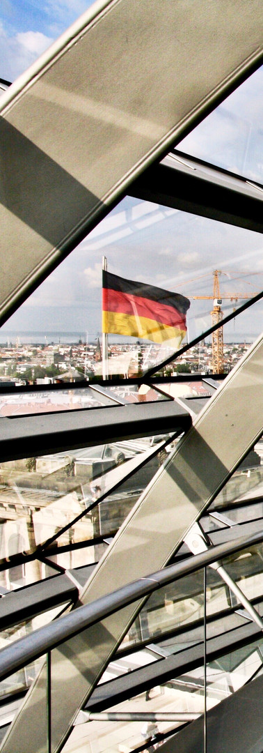 Germany | in the dome of the Reichstag in Berlin