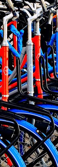 swapfietsen new just in boelelaan blue front tires lively colors vu amsterdam buitenveldert iphoneonly