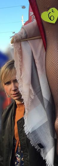 woman's face stockings albert cuyp market de pijp amsterdam iphoneonly