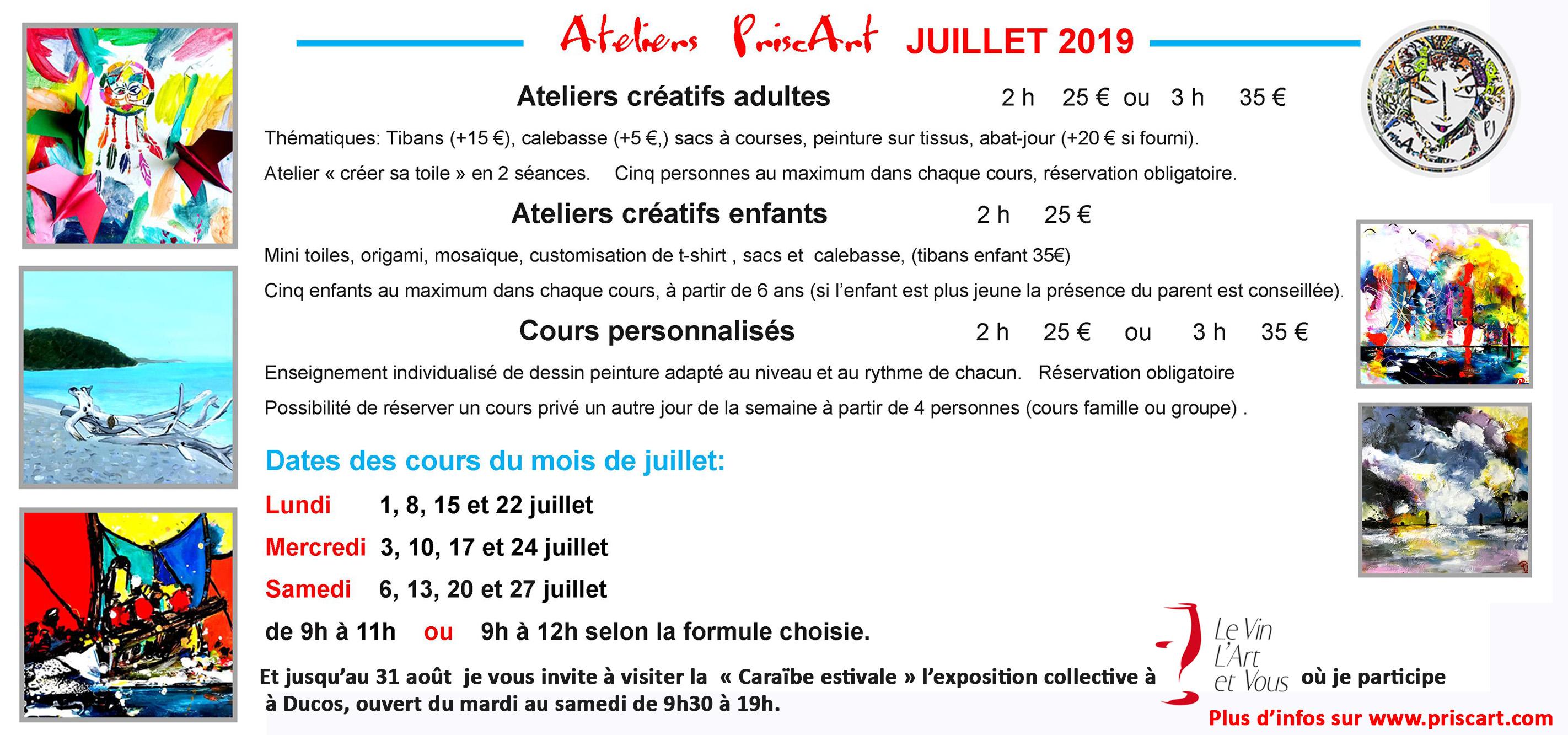 2d7c60f3a73b3 BANNIERE ATELIERS JUILLET 2019